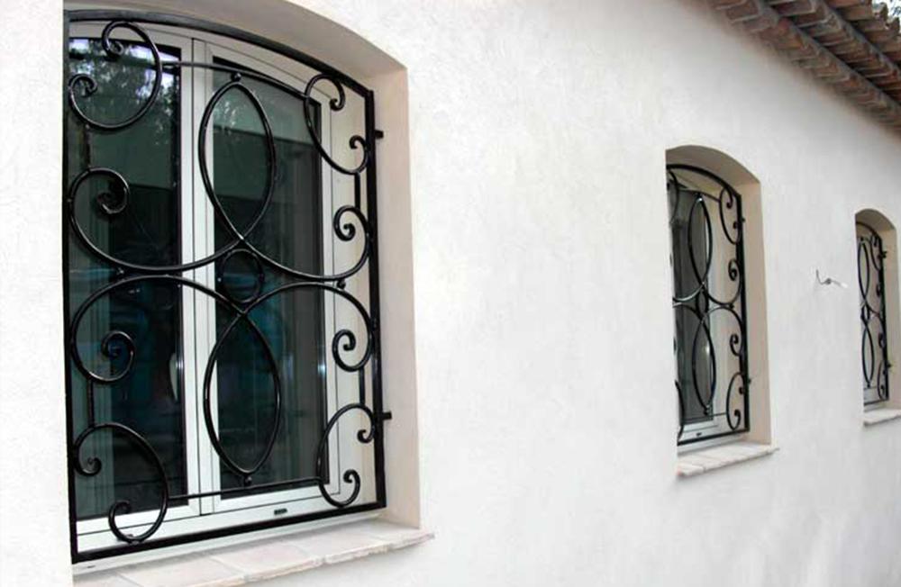 serrurerie du 8eme grilles de d fense. Black Bedroom Furniture Sets. Home Design Ideas